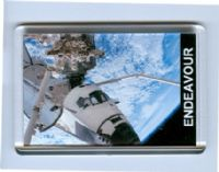 NASA Space Shuttle Endeavour Fridge Magnet